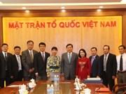 Entidades de masas de Vietnam y China fortalecen nexos