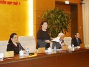 Comité Permanente del Parlamento concluye sesión