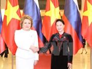 Reiteran parlamentos de Vietnam y Rusia contribución a relaciones binacionales
