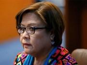 Tribunal filipino emite orden de arresto contra senadora Leila de Lima