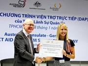 Australia financia 11 proyectos comunitarios en Vietnam