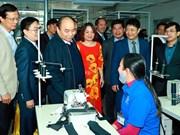 Premier vietnamita asiste a conferencia de promoción de inversión en Tuyen Quang