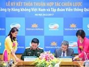 Viettel y Vietnam Airlines firman acuerdo de cooperación estratégica