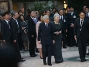 Emperador de Japón visita a voluntarios de JICA en Vietnam