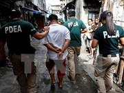 Filipinas incorporará a la policía a campaña antidroga