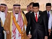 Indonesia y Arabia Saudita firman acuerdos de cooperación