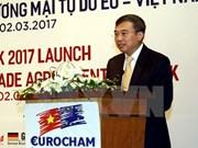 Eurocham: Vietnam es destino atractivo de inversión extranjera directa