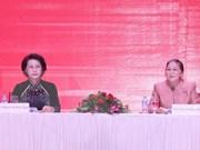 Presidenta parlamentaria de Laos visitará  Vietnam