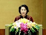 Presidenta parlamentaria destaca apoyo de diplomáticas internacionales a Vietnam