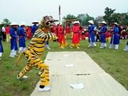 Entregan título de patrimonio nacional al canto y baile vietnamita Ai Lao
