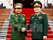 Vietnam y Myanmar fomentan cooperación en defensa