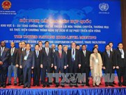 Inauguran en Vietnam reunión de ONU sobre facilitación de transporte y comercio