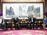 Presidente de China se reúne con Rey de Camboya