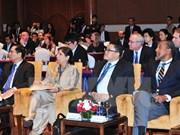 Continúa en Vietnam reunión de alto nivel de ONU sobre comercio y transporte