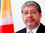 Presidente de Filipinas nombra a Enrique Manalo canciller interino