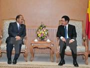Viceprimer ministro desea fortificar la cooperación Vietnam- Nepal