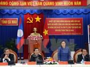 Titular parlamentaria laosiana continúa visita en Vietnam