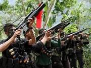 Gobierno filipino y rebeldes acuerdan reanudar conversaciones de paz
