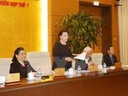 Comité Permanente del Parlamento vietnamita iniciará próxima semana nueva reunión