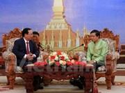 Capitales de Vietnam y Laos refuerzan nexos bilaterales