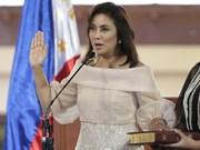 Vicepresidenta filipina advierte sobre impacto de campaña antidrogas