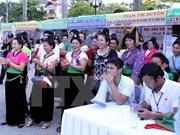 Numerosos turistas acuden a Festival de Flor de Bauhinia en Dien Bien
