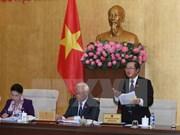 Comité del Parlamento vietnamita continúa debates sobre proyectos legales