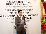 Vietnam se suma activamente a consolidar unidad entre miembros de comunidad francófo