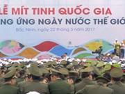 Vietnam celebra actividades por Día Mundial del Agua