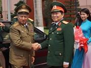 Vietnam y Cuba suscriben plan de cooperación militar