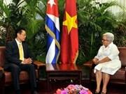 Dirigente partidista de Cuba reitera voluntad de profundizar nexos con Vietnam