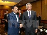 Singapur aspira a cooperar con Hanoi en construcción de urbe inteligente