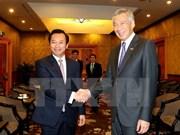 Premier singapurense confirma su asistencia en Año de APEC 2017