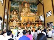 Rinden homenaje a expatriarca del centro del budismo vietnamita en Laos