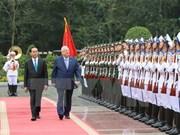 Concluye presidente israelí visita estatal a Vietnam