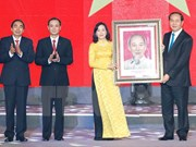 Presidente vietnamita urge a provincia de Ninh Binh a renovar modelo de crecimiento