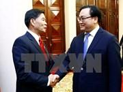 Hanoi y Vientiane buscan aumentar cooperación