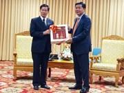 Ciudad Ho Chi Minh y Vientiane intensifican cooperación