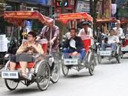 Crece número de turistas foráneos en Hanoi
