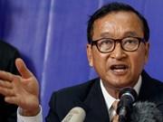 Tribunal de Camboya condena a prisión a exlíder del partido opositor
