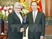 Presidente de Vietnam recibe a ejecutivo de AFP