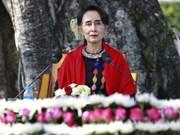 Myanmar: San Suu Kyi se compromete a construir una federación unida