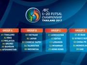 Vietnam enfrentará a Japón en campeonato asiático de fútbol sala