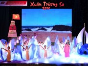"""Efectúan programa artístico """"Primavera Truong Sa 2017"""