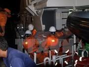 Encuentran último cadáver de tripulante de barco vietnamita naufragado
