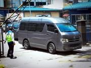 Repatrían cuerpo de ciudadano norcoreano fallecido en Malasia