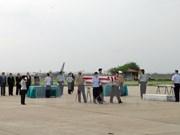 Vietnam repatría restos de soldados estadounidenses desaparecidos en guerra