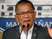 Presidente filipino destituye a secretario de Interior