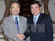 Ciudad Ho Chi Minh y prefectura japonesa de Aichi impulsan cooperación