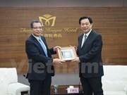 Provincias de Vietnam y China buscan mayor cooperación comercial